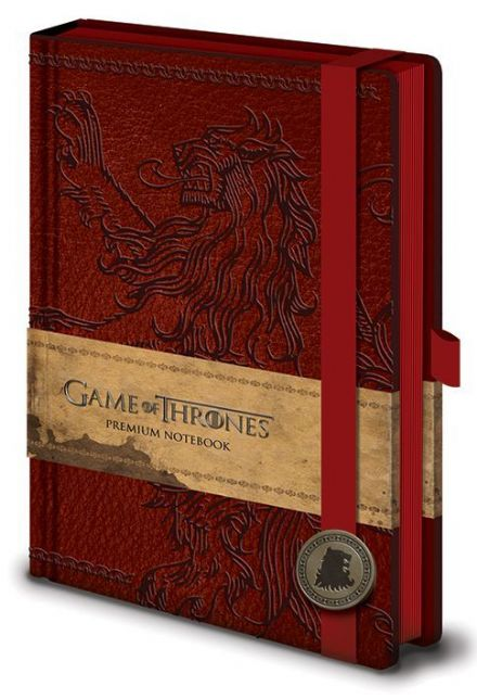 Game of Thrones Lannister A5 Leather Look Notebook